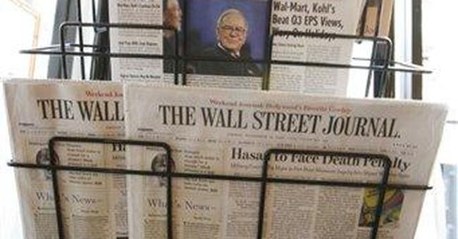 Wall Street Journal remains No. 1 US newspaper