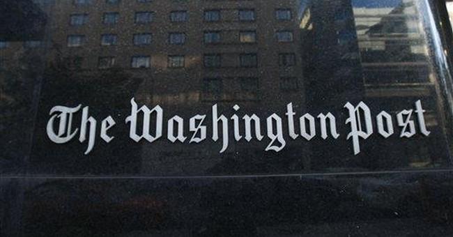Unfair and Unbalanced: The Washington Post