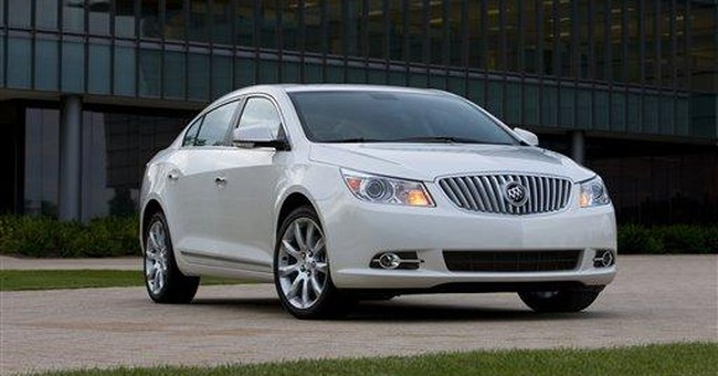 By the numbers: 2012 Buick LaCrosse