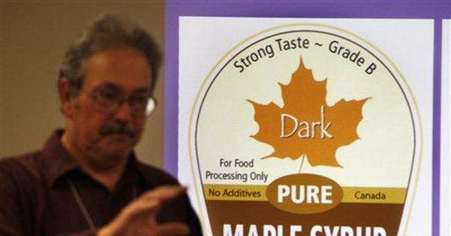 US maple syrup production up sharply in 2011