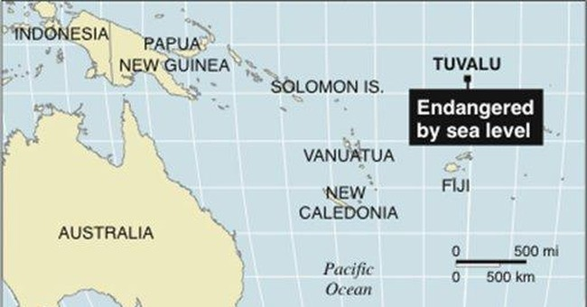 Tiny nation Tuvalu declares fresh water emergency