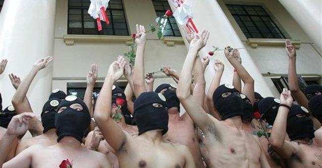 Tufts president ends December naked student run