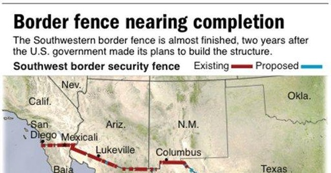 Bachmann pledges border fence with Mexico