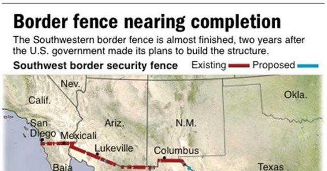 Bachmann pledges border fence with Mexico