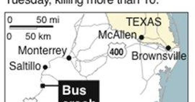 At least 18 die in bus crash in Zimbabwe
