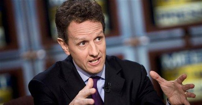 Will the Real Secretary Geithner Please Stand Up?
