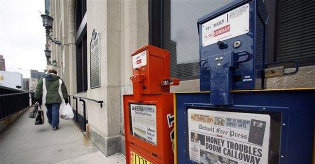 The Real Reason Newspapers Are On Life Support
