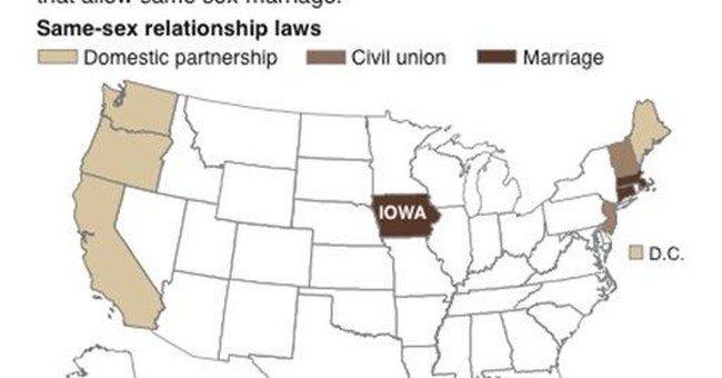 Same-Sex Marriage Comes to America's Front Yard