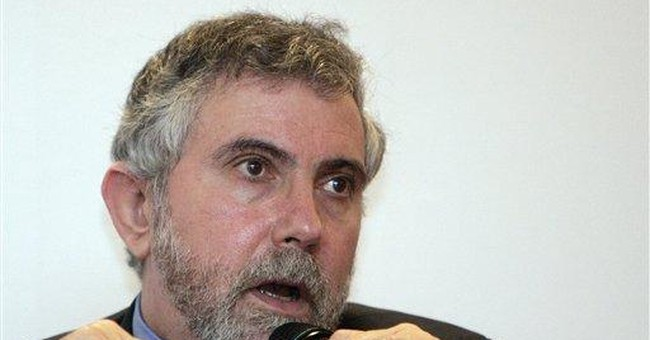 Krugman Thoroughly Embarrasses Himself (Again), Excited About Drop In the Dow