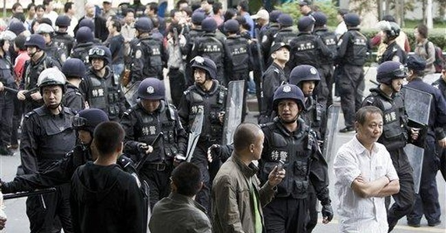 China Has A Green Police Squad Cracking Down On BBQs