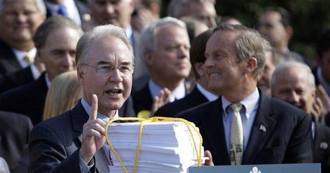 Tom Price's Obamacare Alternative Could Save $2.34 Trillion Over 10 Years
