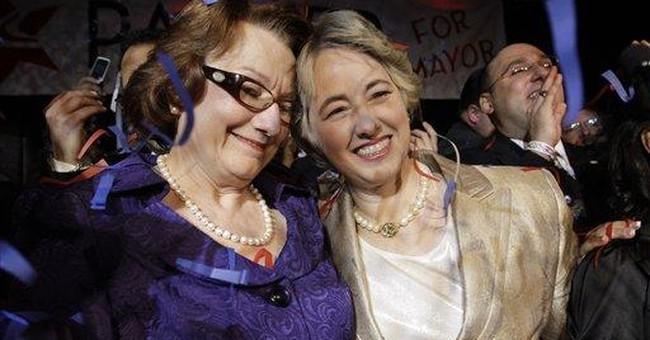 If I Were Gay, I'd Oppose Houston's Old Lesbian Mayor
