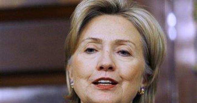 Hillary Goes Weak-Kneed on Iran Sanctions