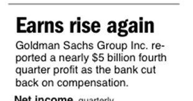 Summary Box: Goldman cuts workers, revenue falls