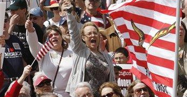 Tea Partiers and the Angry Left