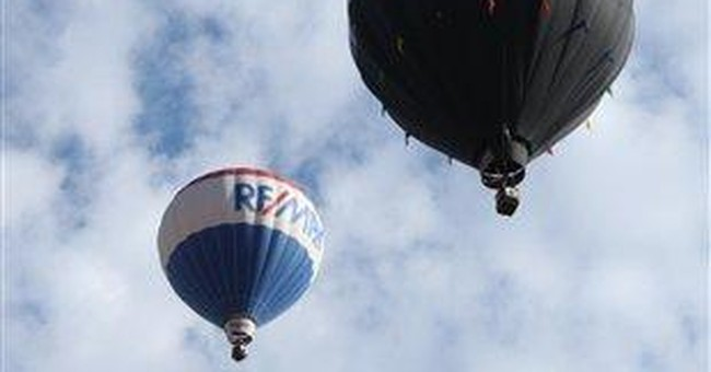 Major balloon race gets under way in Albuquerque