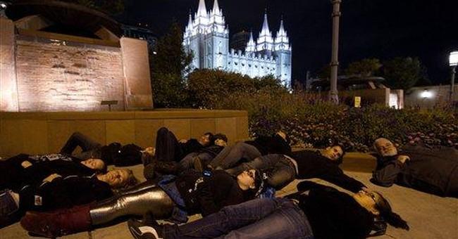 APNewsBreak: US gay rights leaders headed to Utah