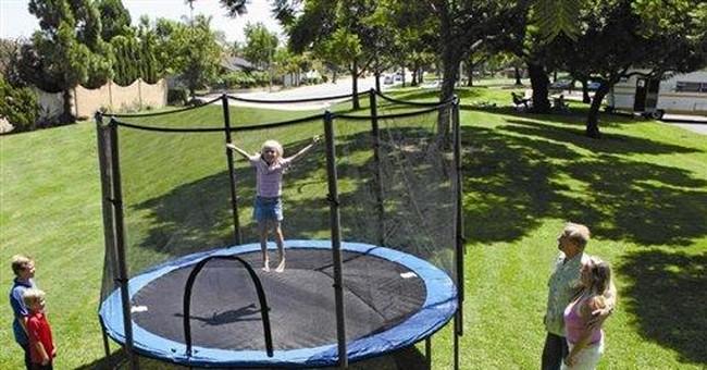Recalls this week: Trampolines, cribs, strollers