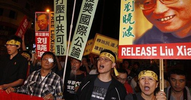 Taiwan's Ma congratulates Nobel laureate Liu