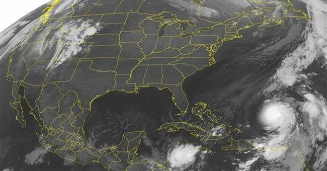 Hurricane Otto forms in the Atlantic