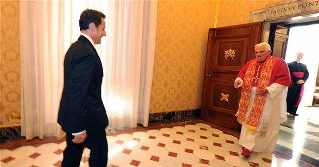 Sarkozy seeing pope amid Gypsy crackdown fallout
