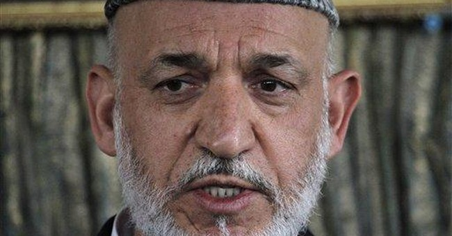 Afghan President Karzai confirms Taliban talks