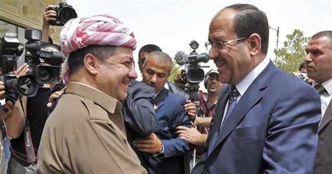 Iraq's PM calls for talks with political rivals