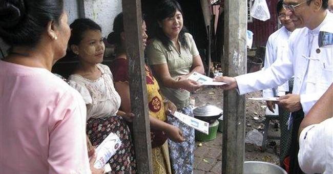 Myanmar's junta-backed party announces platform