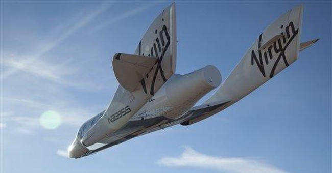 Private spaceship makes first solo glide flight