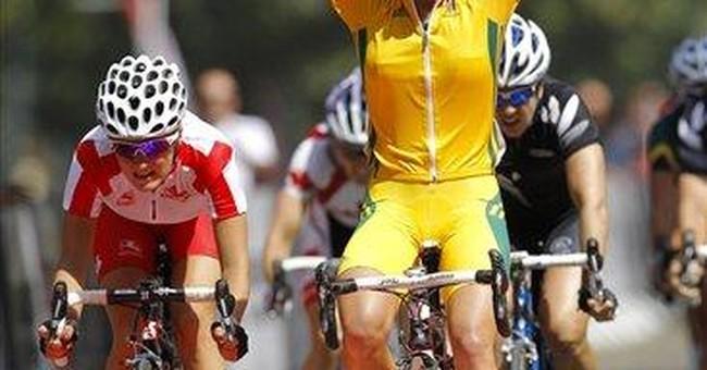 Australians win fan-free road races at Comm Games