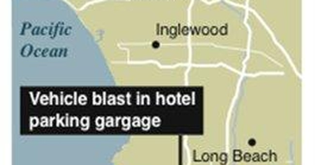 Police: Large firecracker caused LA harbor blast