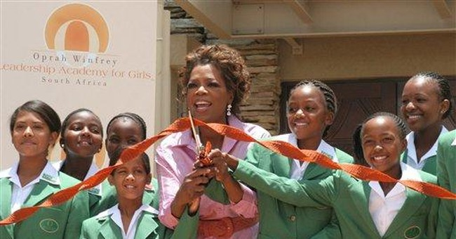 Woman acquitted in Winfrey SAfrica school scandal