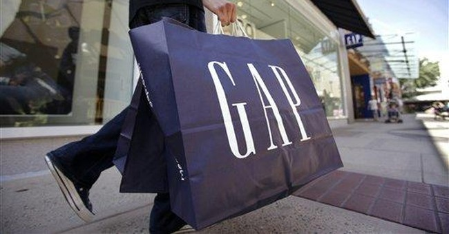 Gap's logo back to blue after fans gripe about new