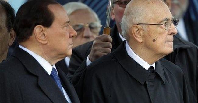 Italy's Berlusconi has minor surgery on hand
