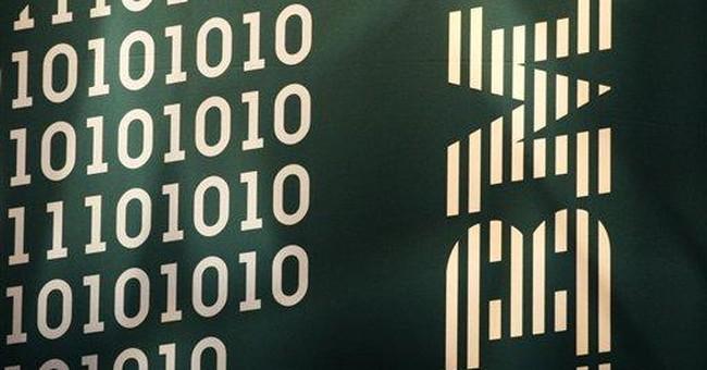 IBM rides market upswing to hit all-time high