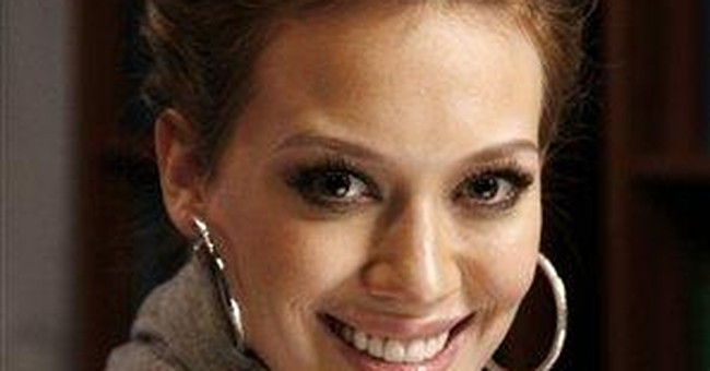 Hilary Duff stays young with first novel