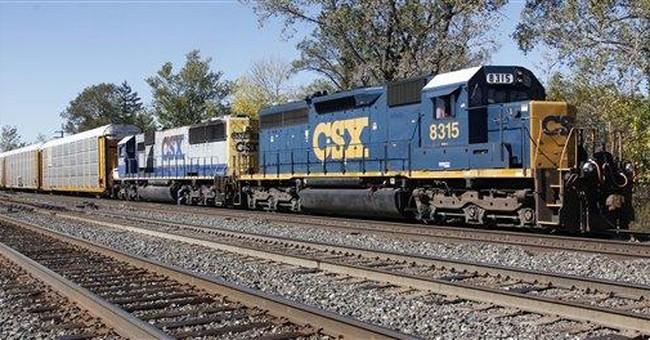 Railroad CSX 3Q profit jumps 43 percent