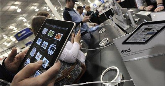 High hopes for iPad push Apple shares near $300