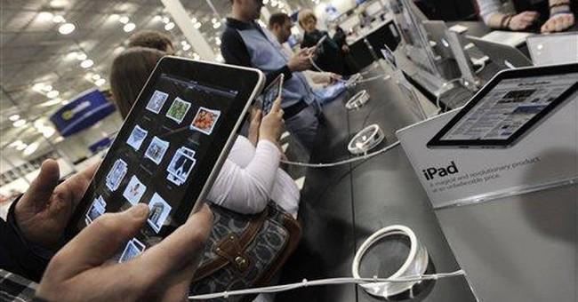 High hopes for iPad push Apple shares near $300