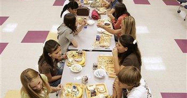 School cafeterias to try psychology in lunch line