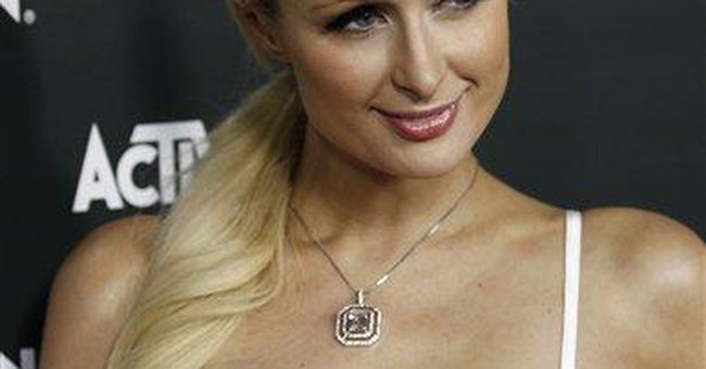 Intruder arrested outside Paris Hilton's LA house