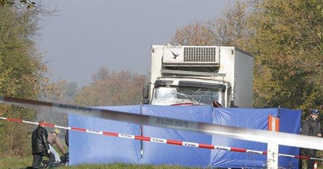 18 killed when van collides with truck in Poland