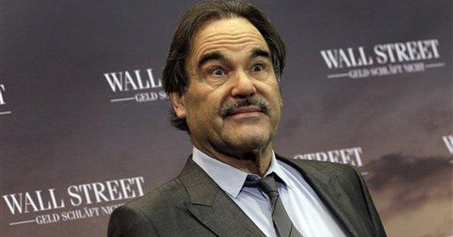 Director Stone says Douglas' health precarious