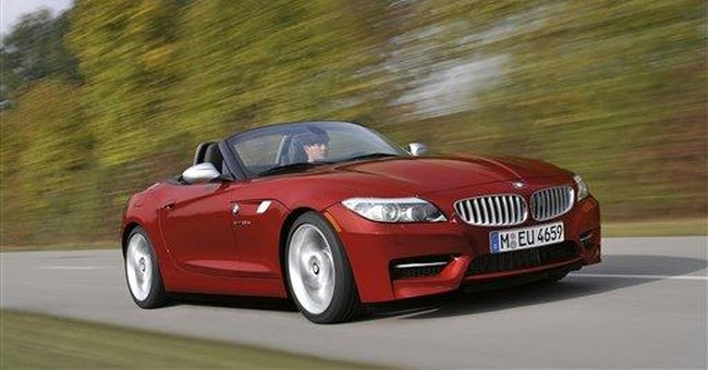 BMW powers up its roadster