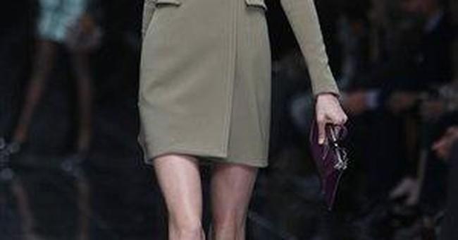 Burberry six-month sales up 17 percent