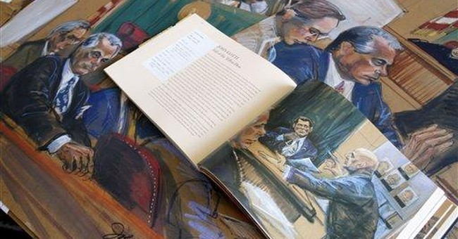 Courtroom sketches heading for Library of Congress