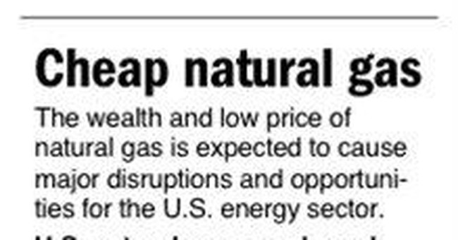 Natural gas elbows its way to center stage