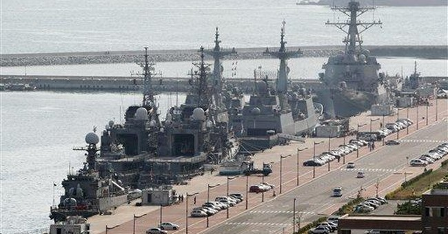 Experts meet ahead of naval drills in South Korea