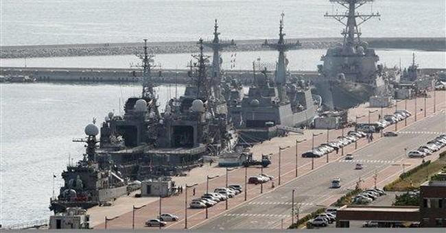 SKorea kicks off naval maneuvers with US, Japan