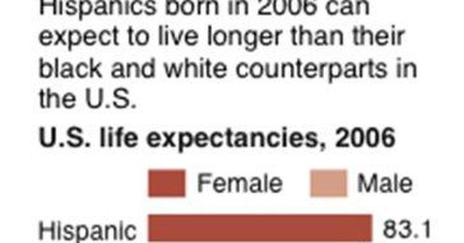 In US, Hispanics outlive whites, blacks by years